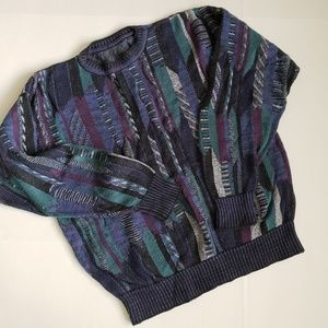 Other - Men's crewneck Bill Cosby style vintage sweater